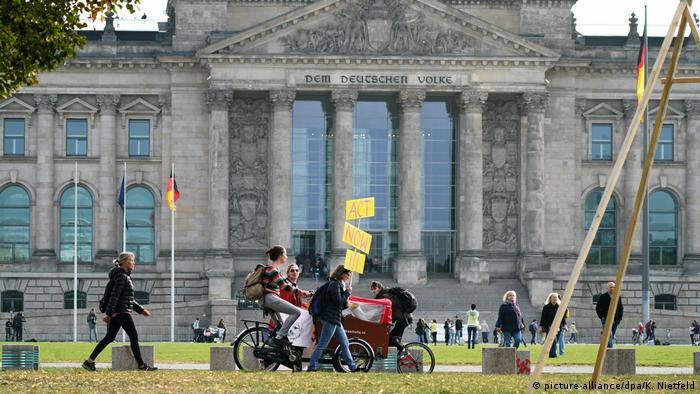 La iniciativa a favor de un fortalecimiento de las relaciones con América Latina fue presentada en el edificio del Reichstag, sede del Parlamento alemán (imagen de archivo).