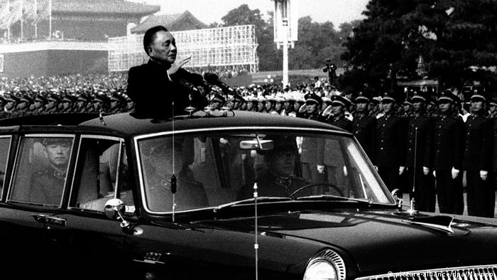 China Deng Xiaoping Parade 1984 (picture-alliance/dpa/Maxppp)