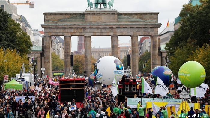 BG FFF weltweit | Deutschland | Klimastreik | Global Strike 4 Climate | Berlin (Reuters/F. Bensch)