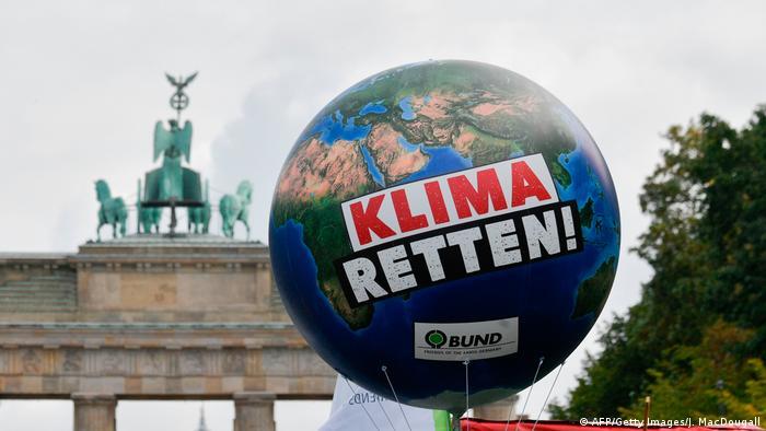 Демонстрация в защиту климата в Берлине