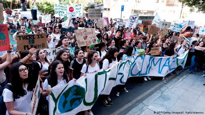 BG FFF weltweit | Zypern | Klimastreik | Global Strike 4 Climate | Nikosia (AFP/Getty Images/I. Hatzistavrou)