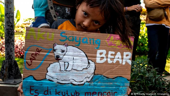 BG FFF weltweit | Indonesien | Klimastreik | Global Strike 4 Climate | Surabaya (AFP/Getty Images/J. Kriswanto)