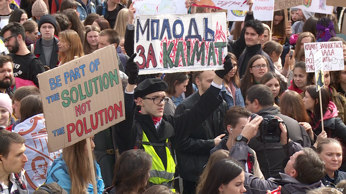Ukraine Kiew Klimaproteste Fridays for Future (DW)