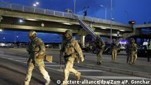 Ukraine Kiew   Mann drohte Sprengsatz an Brücke zu zünden