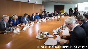 Berlin Kabinettausschuss Klimaschutz im Bundeskanzleramt