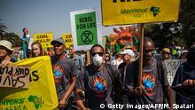 BG FFF weltweit Protestaktion in Johannesburg