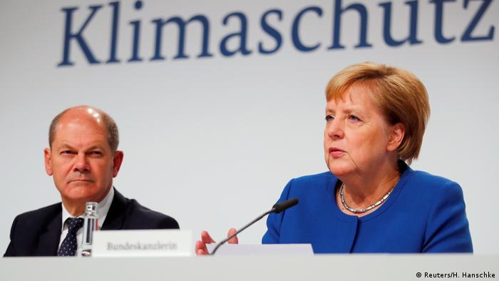Berlin PK Klimakabinett der Bundesregierung