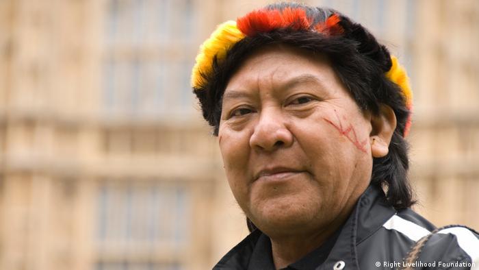 Davi Kopenawa, líder indígena ianomâmi