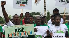 Nigeria Abuja | Klimastreik: Fridays for Future