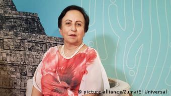 Mexiko Friedensnobelpreisträgerin Shirin Ebadi