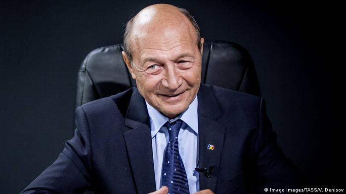 Rumänien Ex-Präsident Traian Basescu
