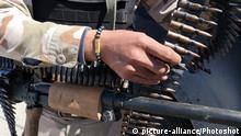 Libyen Symbolbild Regierungssoldat (picture-alliance/Photoshot)