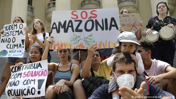 incendio en el amazonas 2020