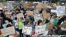 Japan Globaler Klimastreik - Tokio