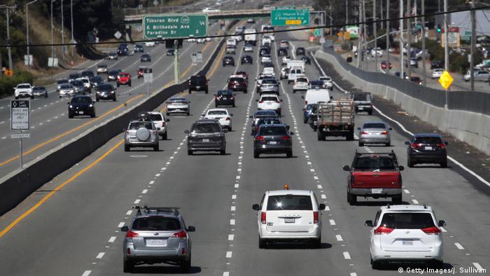 USA Autobahn in Kalifornien
