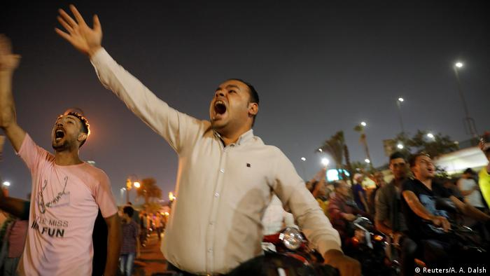 Protests in Egypt demand el-Sissi's ouster
