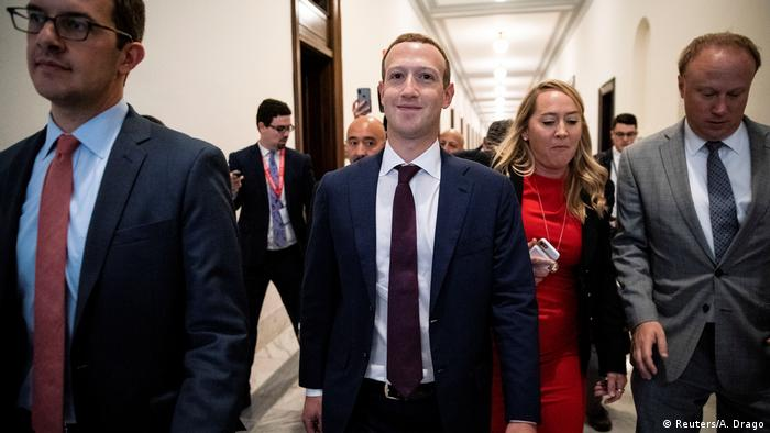 USA Washington Facebook Chef Mark Zuckerberg trifft Abgeordnete (Reuters/A. Drago)