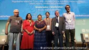 Mexiko Treffen zu Friedensnobelpreis