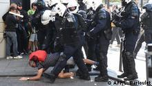 Frankreich Paris Proteste von Gelbwesten