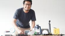 Samuel Adiprakoso und MicroEnergy International erzeugen Strom für abgelegene Gebiete (DW/Sorta Caroline)