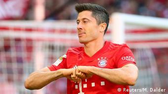 Fußball Bundesliga - Bayern München v 1. FC Köln Tor 2:0 (Reuters/M. Dalder)