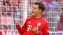 Fußball Bundesliga - Bayern München v 1. FC Köln Torjubel