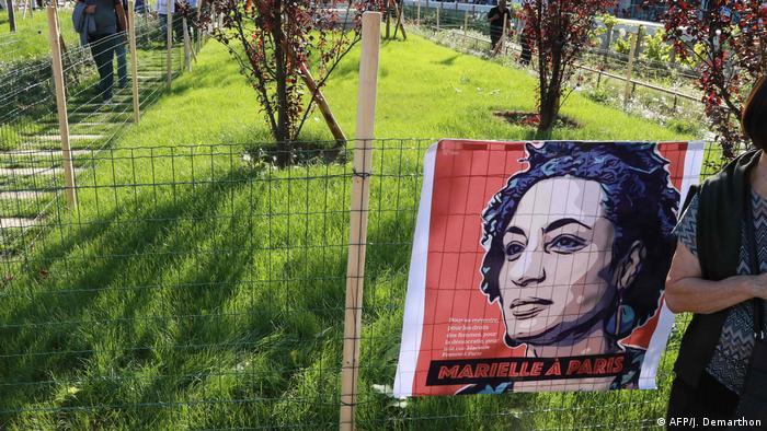 Um jardim popular em Paris leva o nome de Marielle Franco