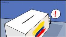 Karikatur Vladdo | Colombia preelectoral