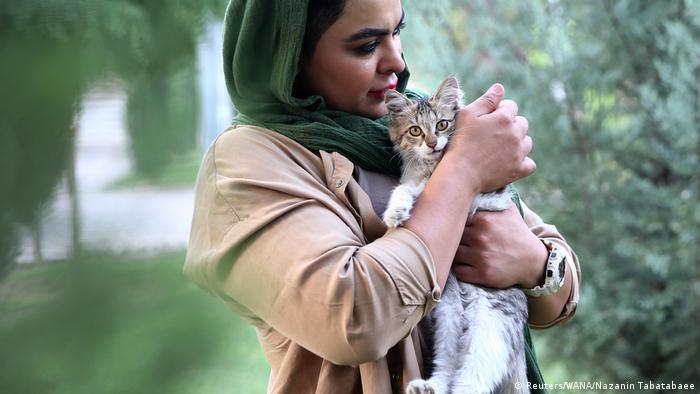 Iran Teheran   Sharareh Nobahari, Bodybuilderin (Reuters/WANA/Nazanin Tabatabaee)