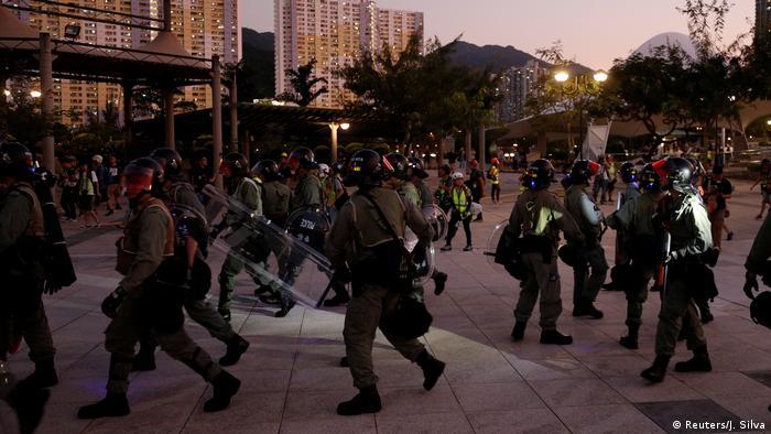 China Hongkong Proteste und Gewalt (Reuters/J. Silva)
