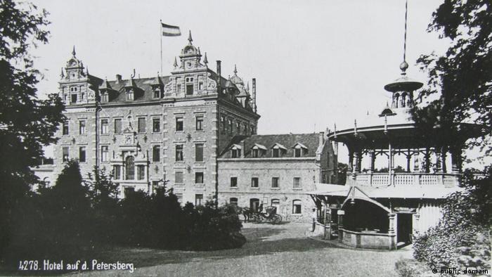 Отель Петерсберг около 1900 года