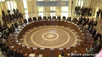 Первая международная конференция по Афганистану в Петерсберге под Бонном, 2001 год