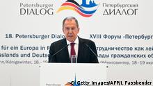 Bildergalerie Petersberg bei Bonn | Petersburger Dialog - Sergej Lawrow, Außenminister Russland