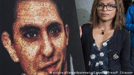 Kanada | Saudischer Blogger Raif Badawi (Bild) und seine Frau Ensaf Haidar
