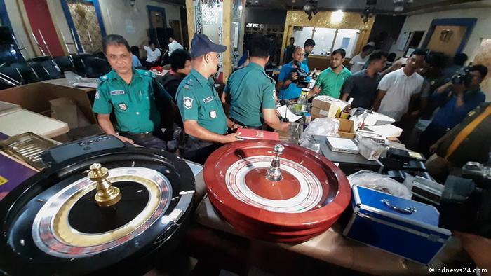 Bangladesch | Polizei in Riad | Mohamedan Club (bdnews24.com )