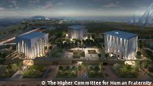 VAE Abu Dhabi Illustration Plan Abrahamic Family House