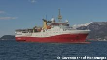 Montenegro Adria | Schiff auf der Suche nach Öl & Gas