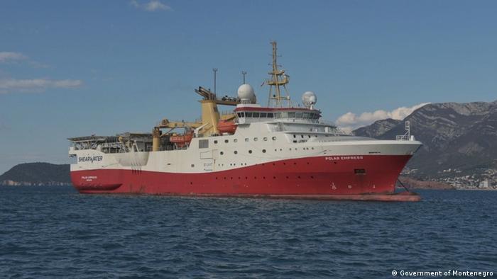 Brod sa koga se u podmorju Crne Gore traga za naftom i gasom