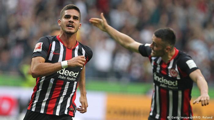 Bundesliga: Late own goal denies Borussia Dortmund all three points in Frankfurt