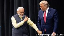 USA Houston Howdi Modi Event | Narendra Modi und Donald Trump