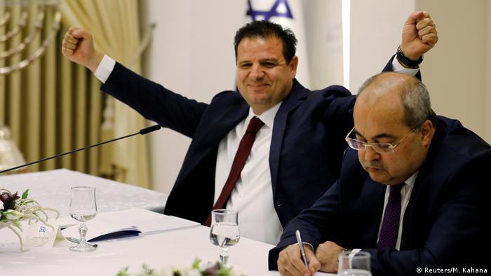 Arabische Liste empfiehlt Gantz als Israels Premier | Aiman Odeh (Reuters/M. Kahana)