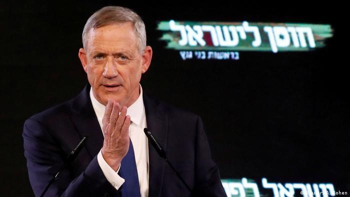 Arabische Liste empfiehlt Gantz als Israels Premier | Benny Gantz (Reuters/A. Cohen)