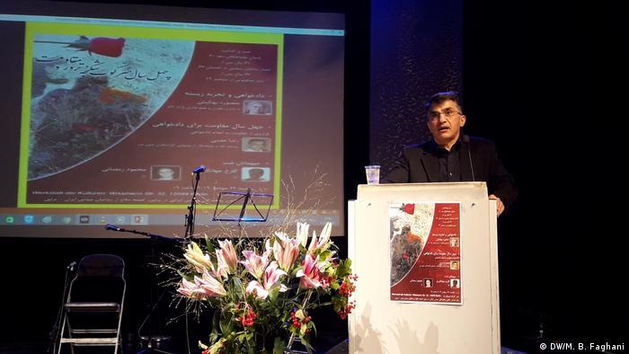 رضا معینی، مسئول بخش ایران در سازمان گزارشگران بدون مرز