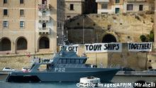 Malta EU-Treffen der Innenminister | Protest EU Get Your Ships Together