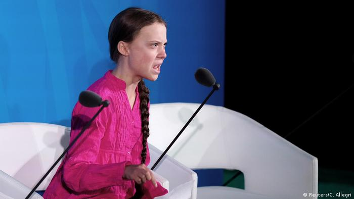 New York United Nations Climate Action Summit Greta Thunberg (Reuters/C. Allegri)
