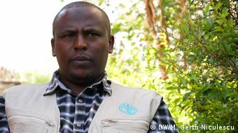 Ahmed Mohammed, FAO Somali Region field coordinator and livestock officer (DW/M. Gerth-Niculescu)