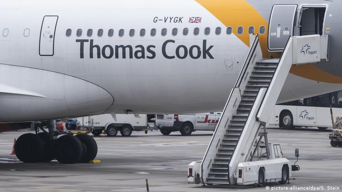 Deutschland Flughafen Frankfurt | Insolvenz Thomas Cook (picture-alliance/dpa/S. Stein)