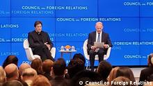 USA Council on Foreign Relations in New York Imran Khan