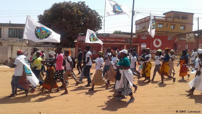 Mosambik Wahlkampf | Menschen mit Behinderung