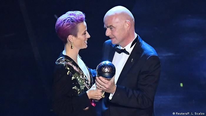 Fußball FIFA Weltfußballer-Wahl | Frauen | Weltfußballerin 2019 (Reuters/F. L. Scalzo)